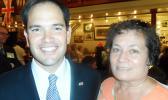 Marco Rubio and Aumua Amata