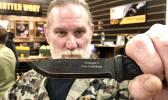 Highly regarded survival expert, David Canterbury, has teamed with Mora Knives to create the exciting Garberg Carbon knife for survival and your daily chores.    [Photo: Barry Markowitz]