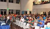 Attendees at last week's Chamber of Commerce candidates forum