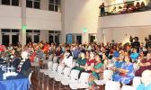 A view of the audience at the recent Chamber of Commerce candidate forum.