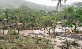 Cyclone Evan destruction in Samoa in 2012