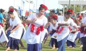 American Samoa cheered during opening ceremony