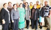 Educators from American Samoa with Amata