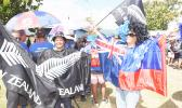 Fans arrive early for the All Blacks v Manu Samoa rugby union test match at Apia Park in 2015. [Photo: PHOTOSPORT via RNZI]