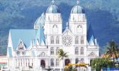 Catholic Cathedral in Apia in Samoa Photo: RNZI/ Autagavaia Tipi Autagavaia