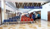 Samoa's Faleolo international airport's newly built departure lounge has been equipped with new technology [Photo: RNZI Autagavaia Tipi Autagavaia]]