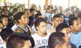 Samoan workers at a RSE meeting [Photo: RNZI/Tipi Autagavaia Tipi]
