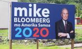 Bloomberg billboard in American Samoa