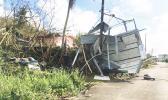 Damage caused by Yutu