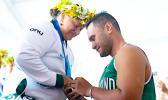 Emilene Taulu being proposed to by Tupuga Amo