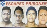 Luititi Tualima (m), Vaioa Solia (m), Aniseko Vaelei (m) and Uili Manuleleua (m).  [Photos: Samoa Observer]