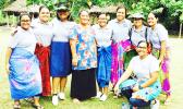 Junior and Senior students of South Pacific Academy