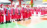 Some of the 116 Faga'itua High School 2021 grads