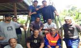 SRCT staff and members after a hard day's work at Goshen Trust in 2012. [Photo: Samoa Returnees Charitable Trust]