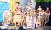 The Le Taupou Manaia dancers