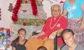 Senator Galea'i M. Tu'ufuli and family members in a SN file photo