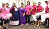 ASTCA employees wearing pink for 'Pinktober'