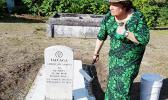 historical marker for Seaman Tafeaga with Cong. Amata