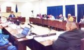 House of Representatives members at their desks