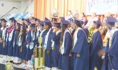 A look at some of the 23 graduates of Iakina Adventist Academy class of 2018 during their commencement ceremony on Sunday, June 24, at Gov. Rex Lee Auditorium.
