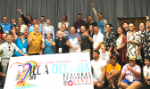 Group photo of the ILGA Oceania Conference 2018 in Apia, Samoa