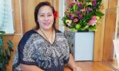 Ruby Misa-Sabbath is one of the friendly faces at the NZ High Commission who will be helping customers when the Go Cashless system for service fee payments is implemented at the start of October. [Samoa Observer]