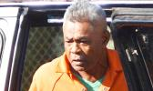 Ioakimo Felise arrivves at court