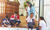 CCCAS Aasu youth performing their skit
