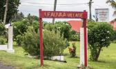 Leauva'a village sign