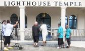 Sen. Tilo cuts ribbon for Lighthouse Temple dedication