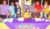 Christopher King (far right standing) is the 2018-2019 President of the Lions Club of Pago Pago. He is seen in this group photo with other new incoming board members of the Lions Club as well as new inductees during the induction ceremony last Friday. Also in the photo is Sen. Galeai Tu'ufuli, who is the Lions Club chapter chairman (second from right sitting).