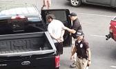 Man being taken into custody in Samoa News parking lot