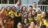 Manumalo Academy honor society inductees