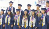 The 12 Manumalo Baptist Academy senior graduates