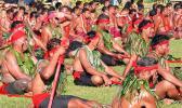 A group of Samoan matai pre-Covid
