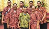 Many members of the Mauigoa family