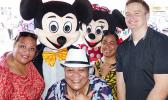 Mickey and Minnie Mouse at Aumua Amata's Halloween event