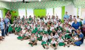 Mt. Alava Elementary school students
