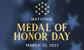 National Medal of Honor Day logo