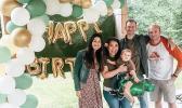Nakoa and family at birthday party