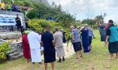 ASG officials at Ofu runway rehab groundbreaking