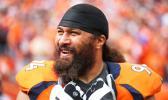 Denver Broncos' Veteran nose tackle Domata Peko Sr. [photo: DenverBroncos.com