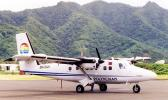 A Polynesian Airlines plane on the runway at Pago Pago International Airport. [courtesy photo]