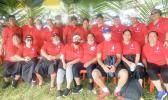 Members of the StarKist Samoa QC Department