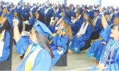 Some of the 187 Samoana High School 2020 graduates