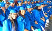 some of the 187 graduates of Samoana High School class of 2018