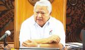 Samoa Prime Minister Tuilaepa Lupesoliai Dr. Sailele Malielegaoi