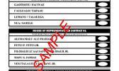 The sample ballot