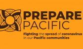 Logo for new website dedicated to providing information on Covid-19 for Pacific communities