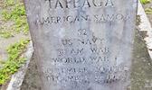 Headstone of Navy Seaman Tafaega of Olosega, Mau'a
